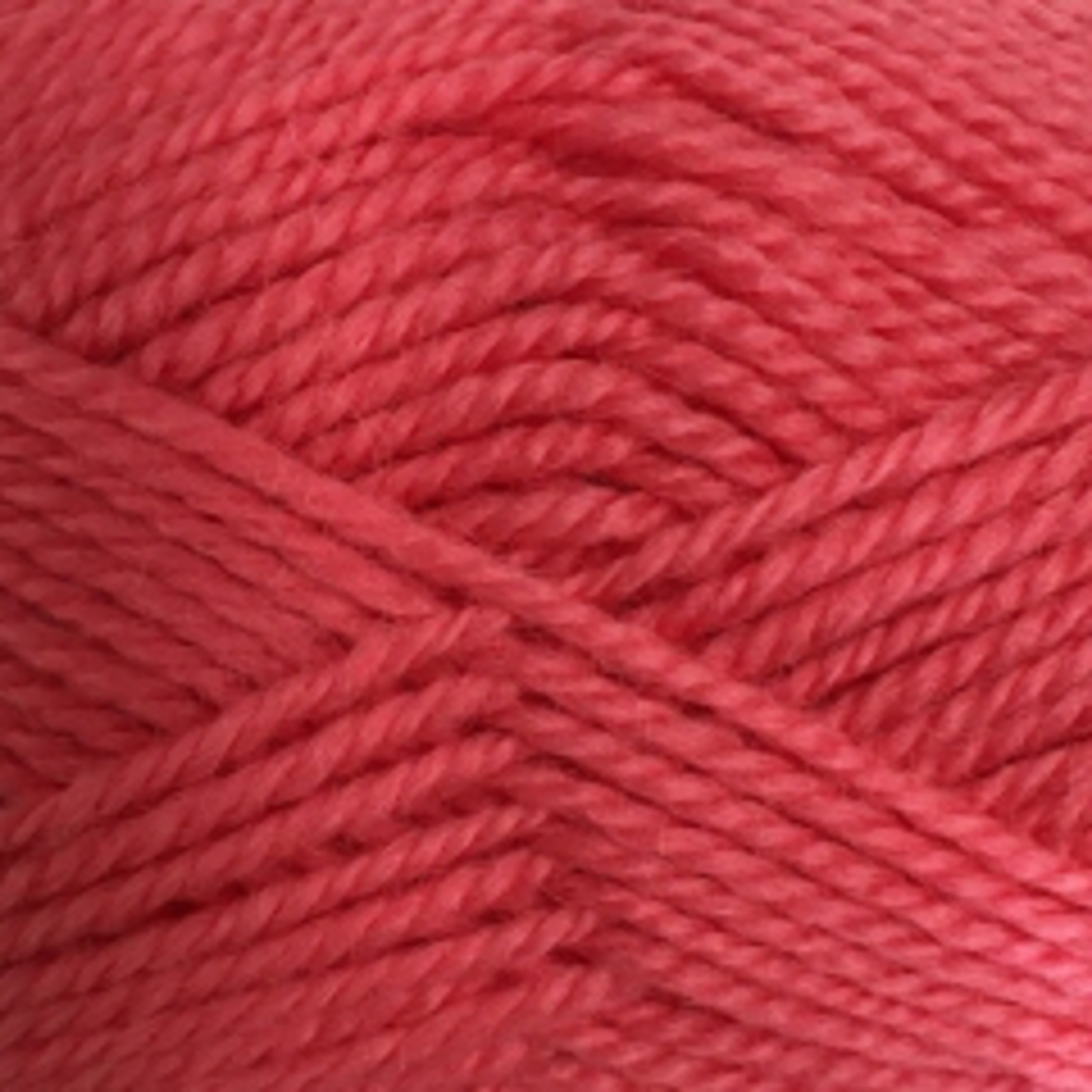 Red Hut: Pure New Zealand 100% Wool 8 Ply Yarn - Coral image 0
