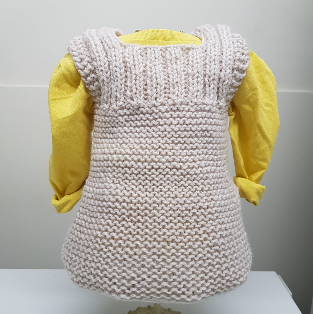 Pinafore Dress - Wool / Alpaca Blend image 0