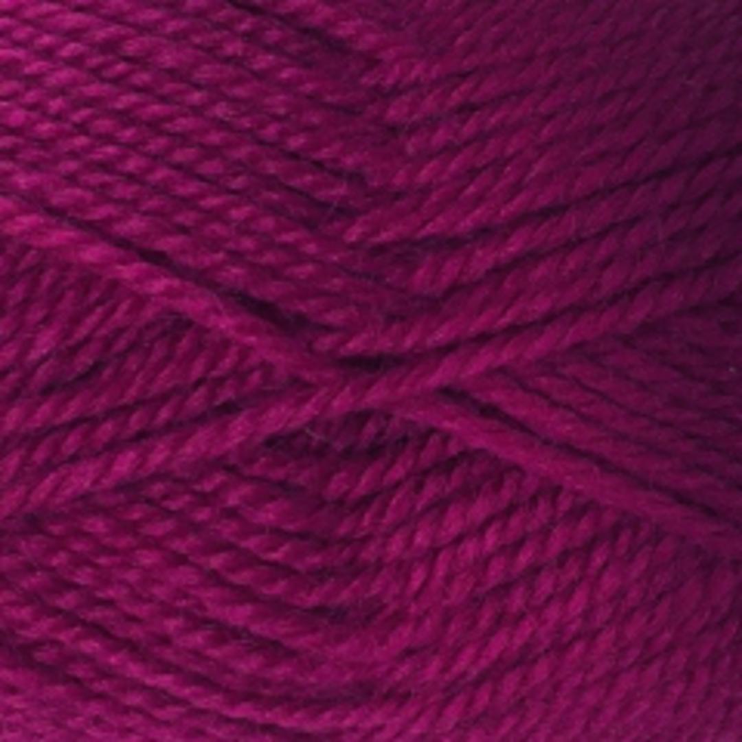 Red Hut: Pure New Zealand 100% Wool 8 Ply Yarn - Dark Raspberry image 0