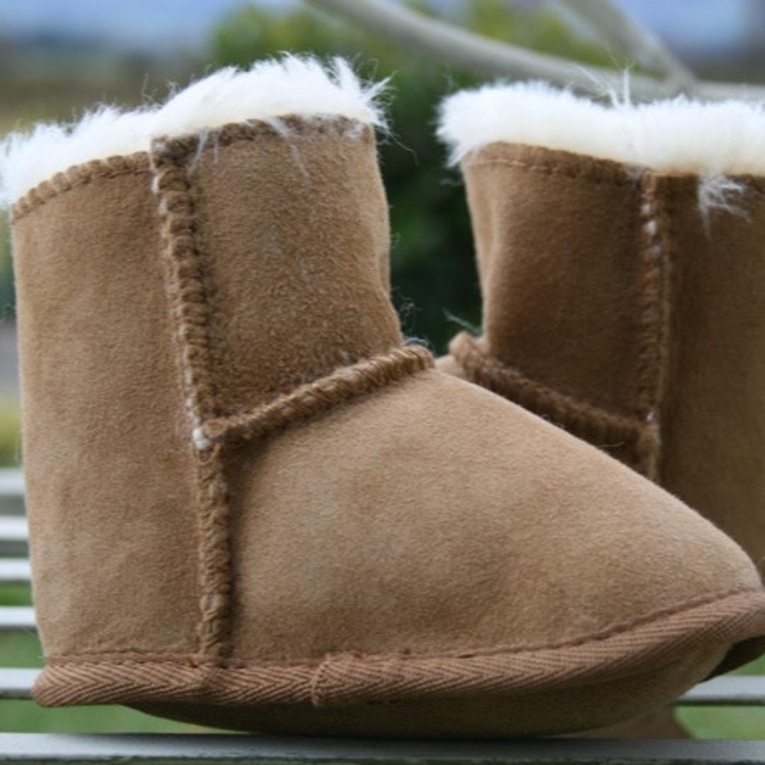 Baby Slippers - Walnut image 0