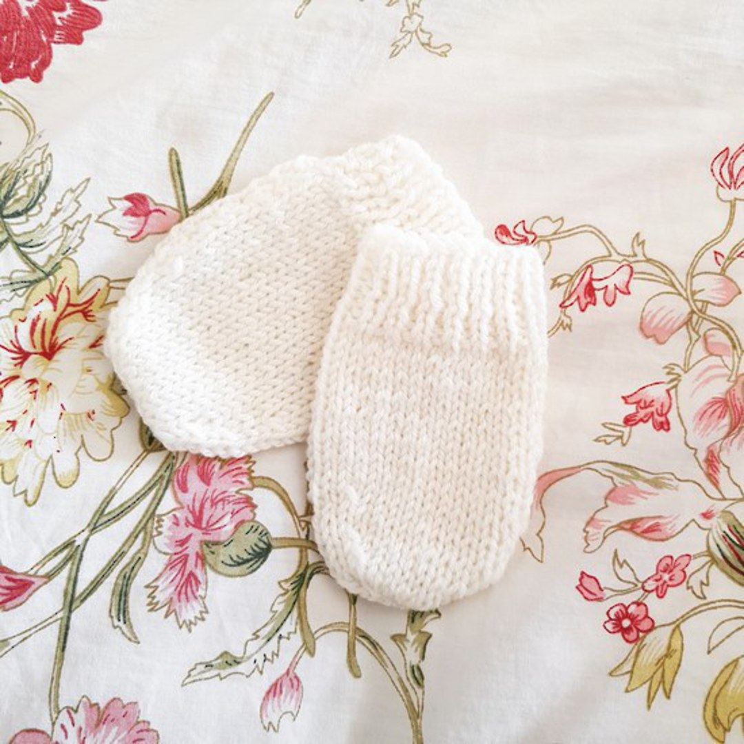 Merino Baby Mittens image 0
