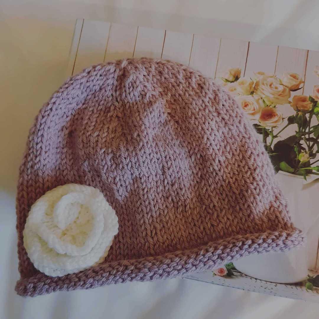 Soft Merino Alpaca Baby Hat image 0
