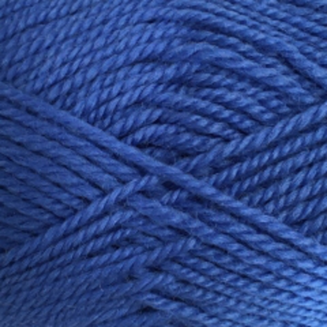 Red Hut: Pure 100% New Zealand Wool 8 Ply Yarn - New Blue image 0