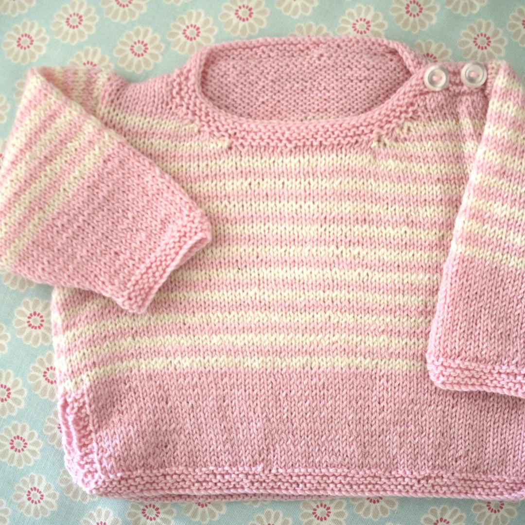 Merino Wool Baby Knit Jersey image 1