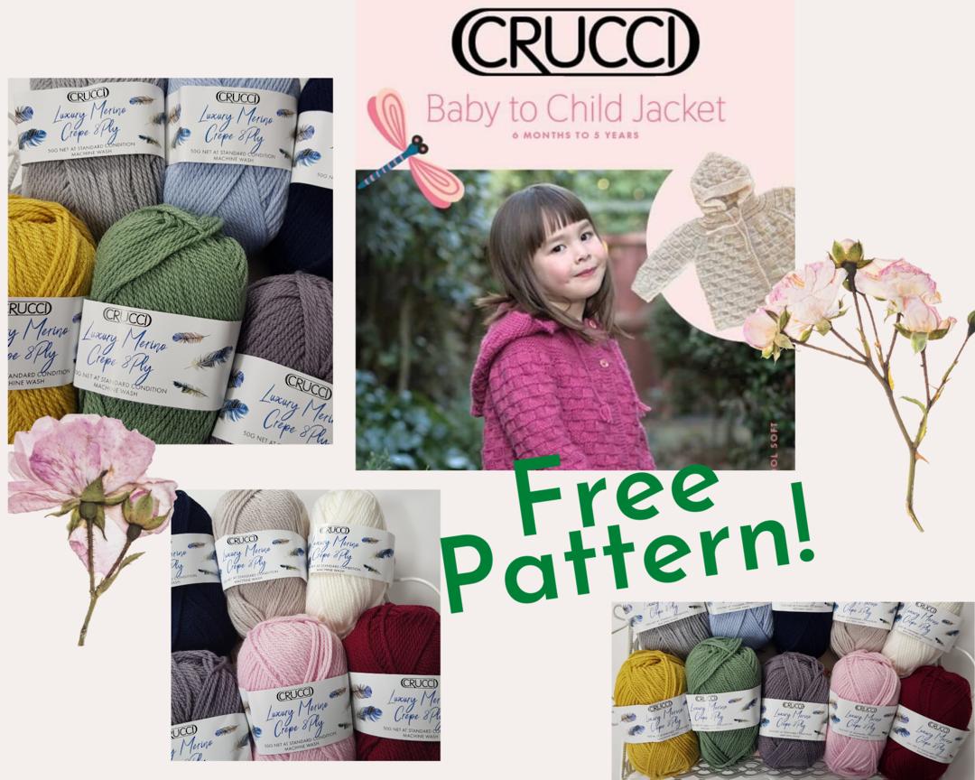 Free Pattern with Merino Wool Yarn Purchase image 0