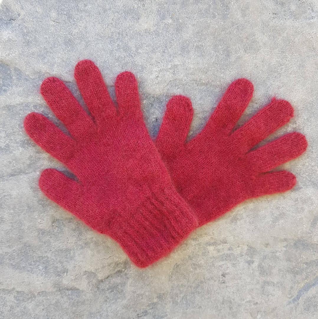 Children's Possum Merino Silk Gloves image 1