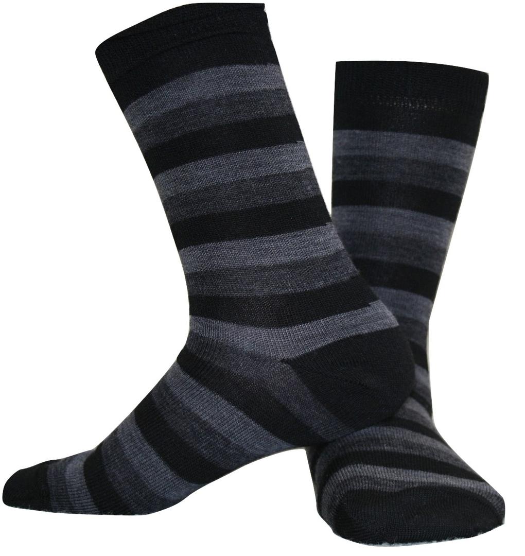 Merino Socks - Wide Stripe image 2