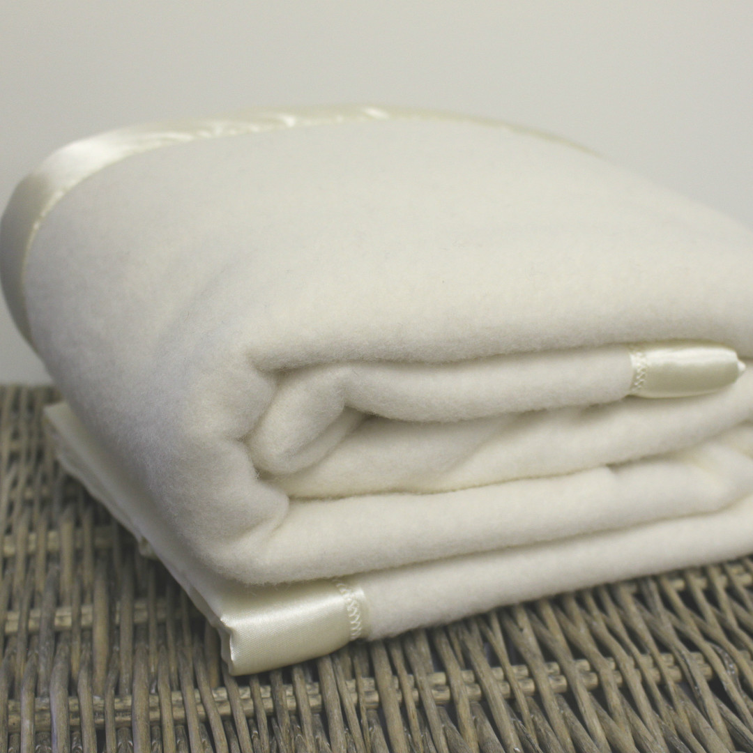 Traditional Wool Blanket - Baby image 1
