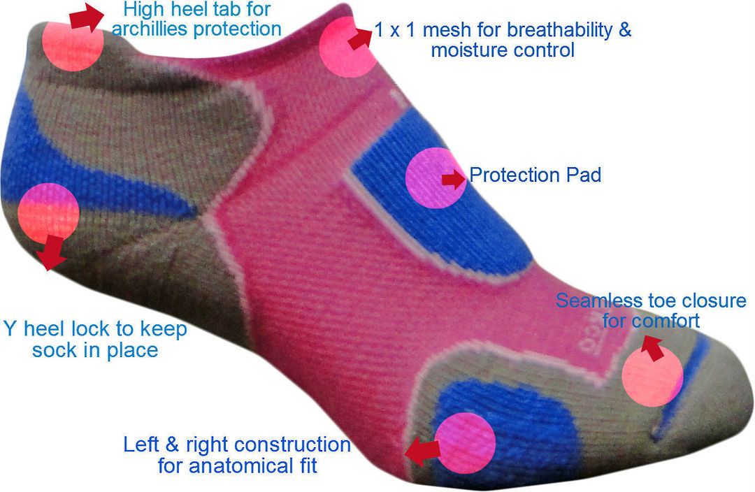 Merino Performance Sport Sock - Adult Unisex image 2