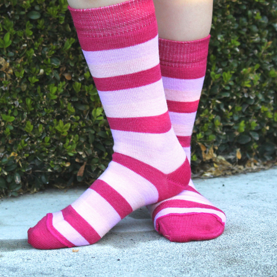 Merino Socks - Wide Stripe image 3