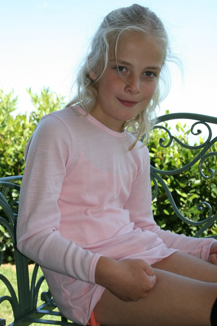 Kids Merino Long Sleeve Outerwear Top image 2