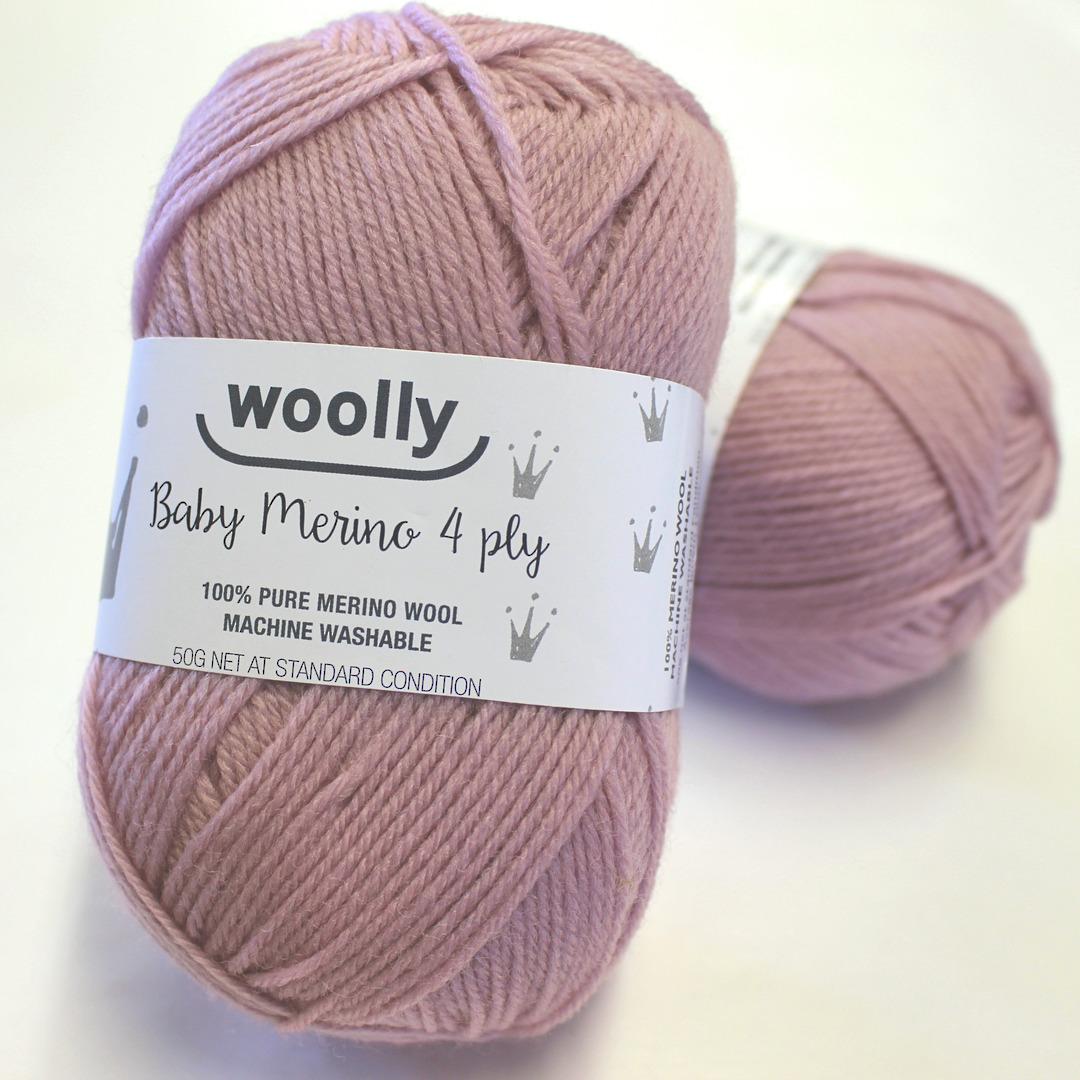 4 Ply Merino Yarn - Ballerina Pink image 0