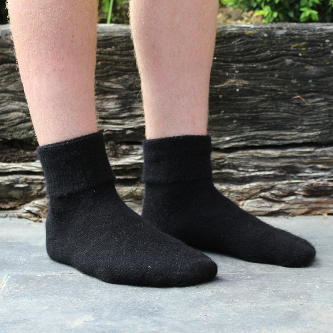 Comfort Top Merino Possum Socks - Unisex image 1
