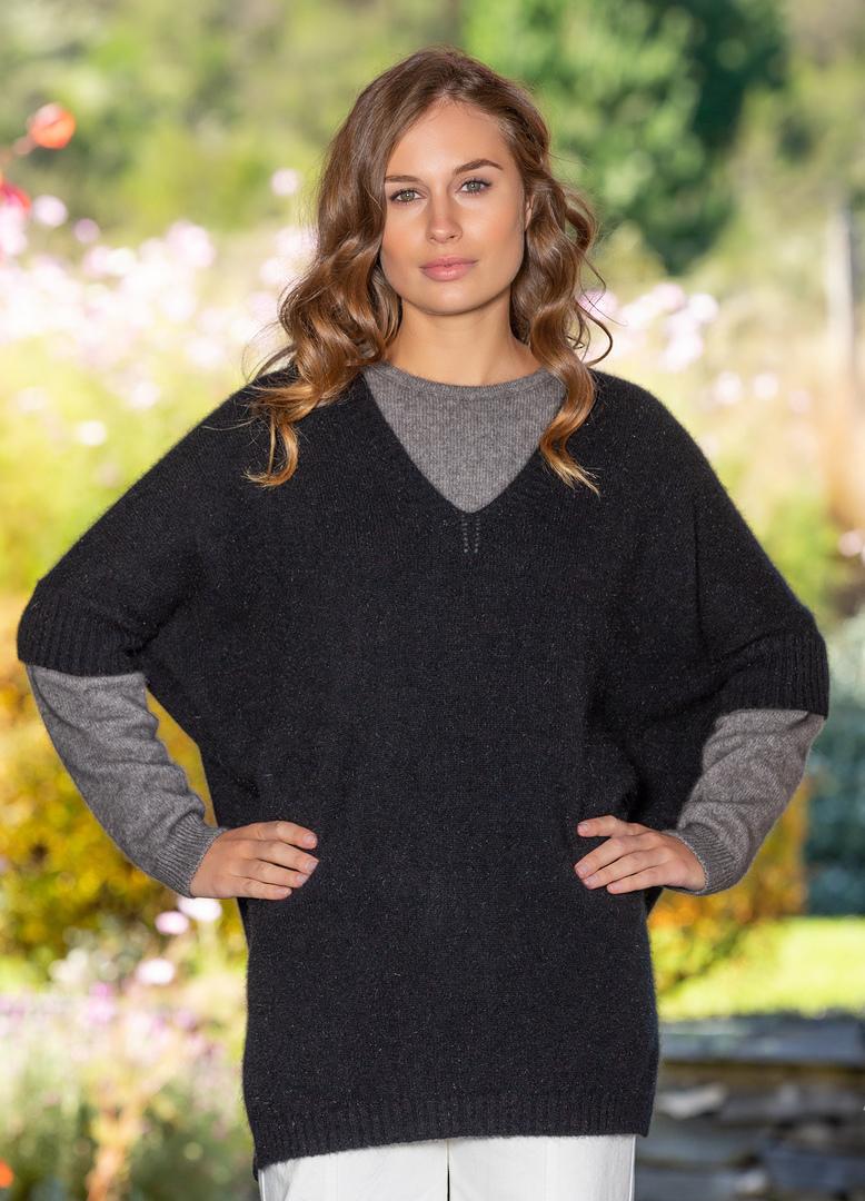 Possum Merino Women's Sleeved Cape - one size image 2
