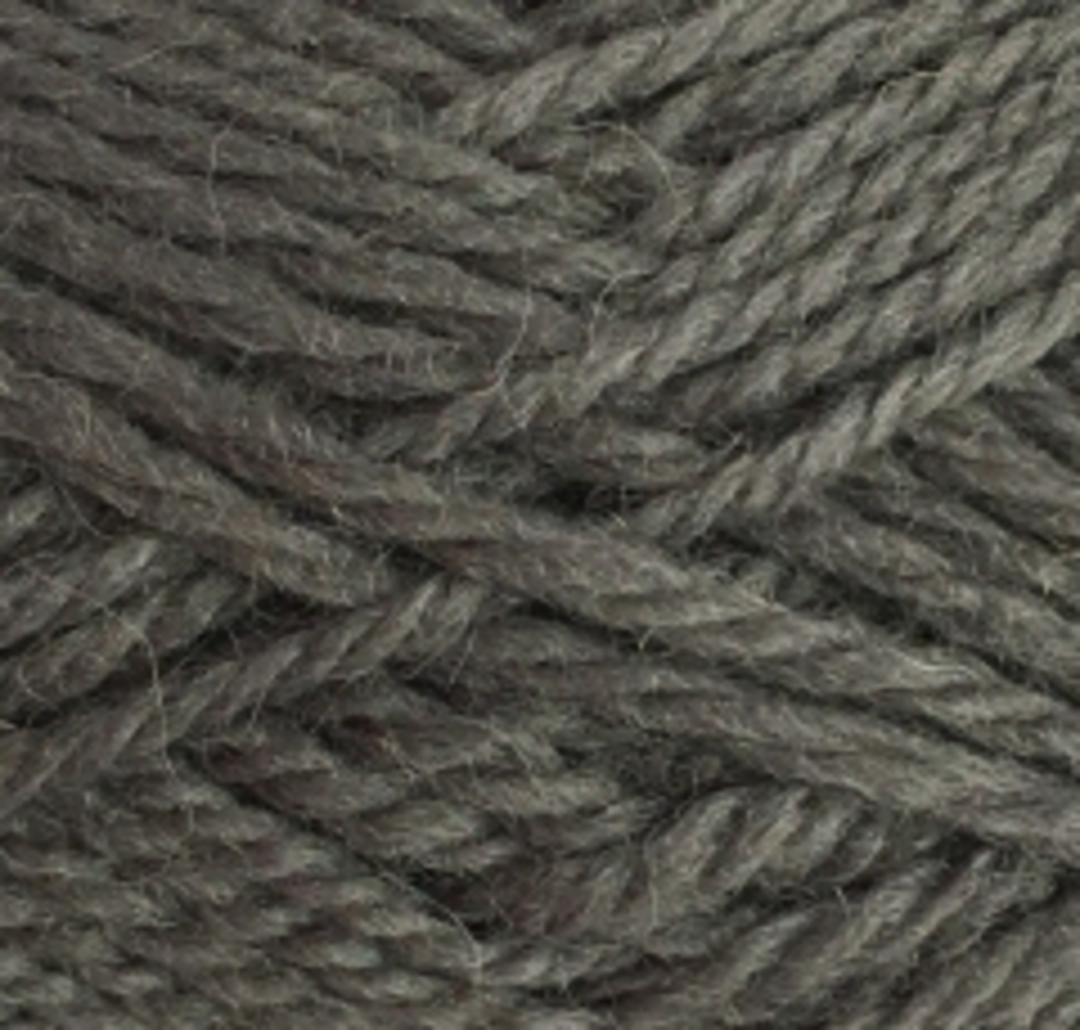 Red Hut: Pure 100% New Zealand Wool 8 Ply Yarn - Charcoal image 0