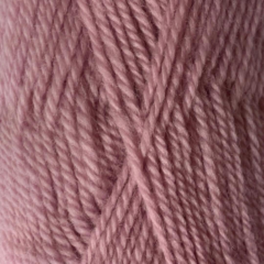 Crucci Ferndale: Pure 100%  NZ Wool 8 Ply Yarn - Dusky Pink image 0