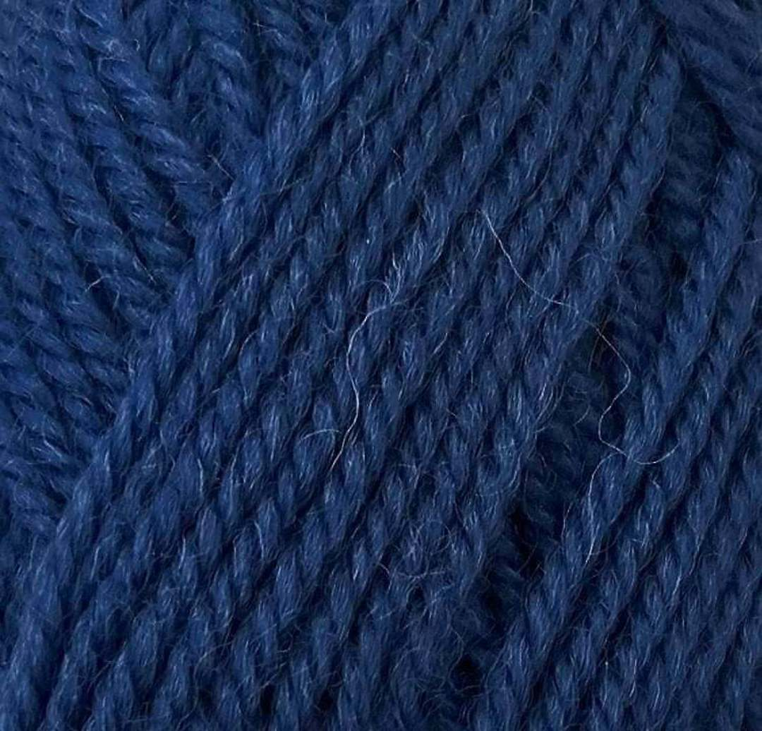 Red Hut: Pure New Zealand 100% Wool 8 Ply Yarn - Denim image 0