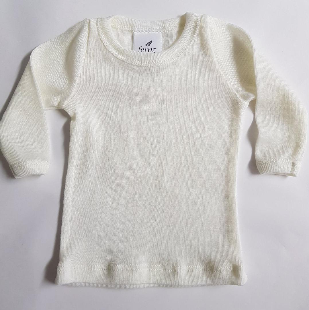 Premature Baby Merino Long Sleeve Top image 0