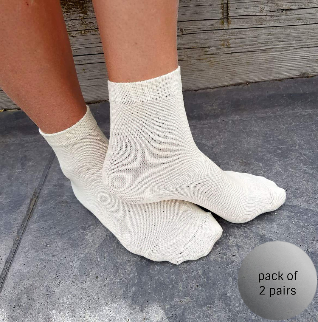 Merino Crew Socks for Children image 0