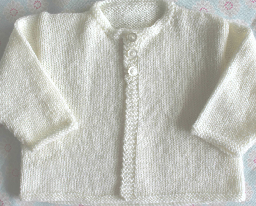 Merino Baby Knit Cardigan image 2