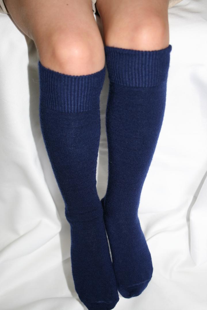 Long Merino Wool Socks - child image 3