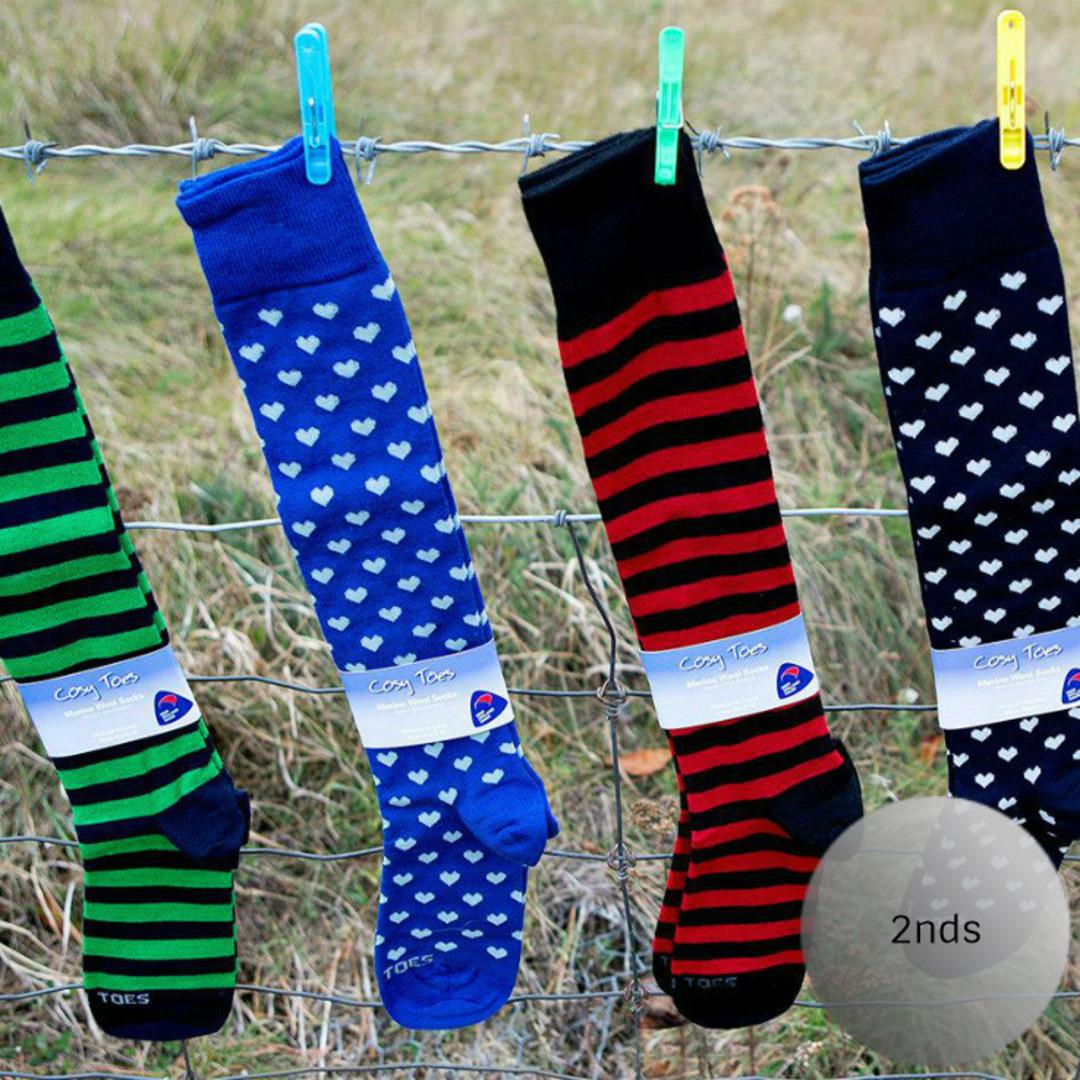 Merino Socks - Knee High 2nds image 0