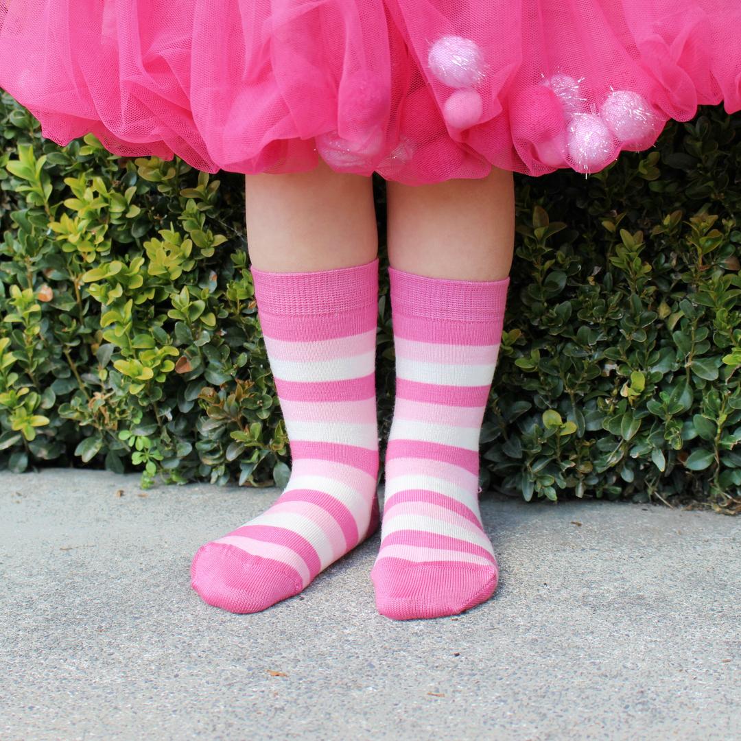 Merino Socks - Wide Stripe image 1