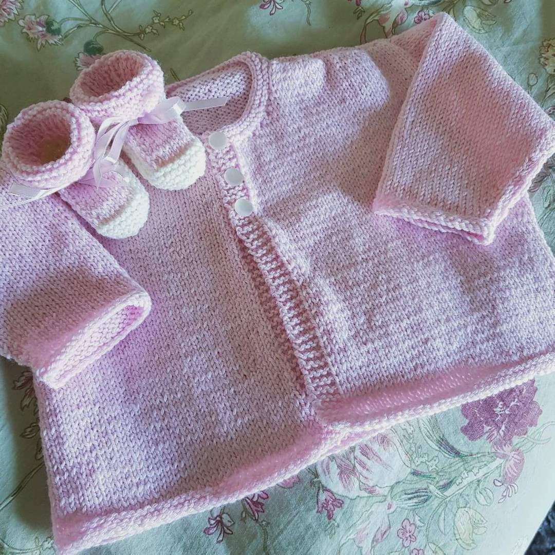 Merino Baby Knit Cardigan image 1
