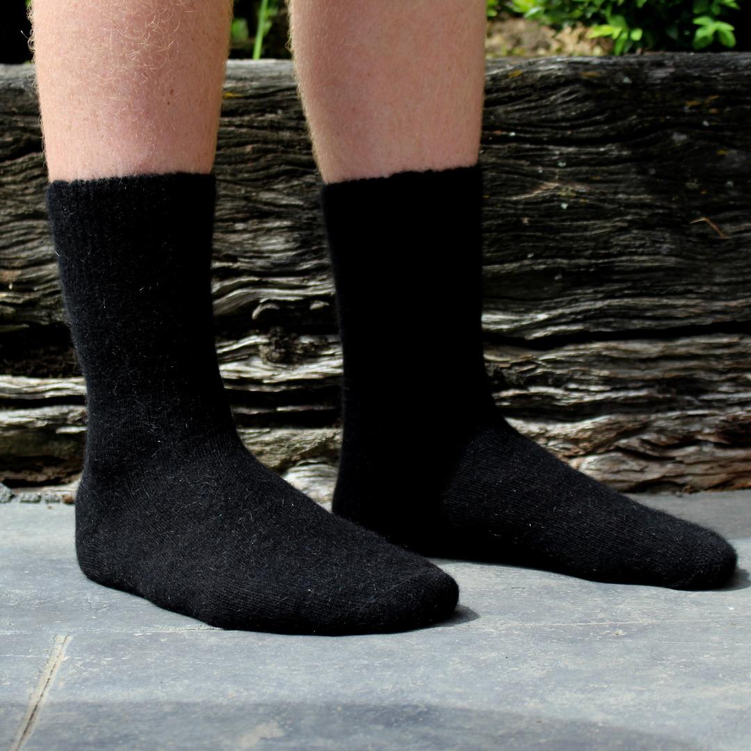 Comfort Top Merino Possum Socks image 0