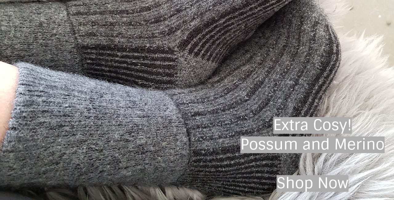 Possum Merino Socks