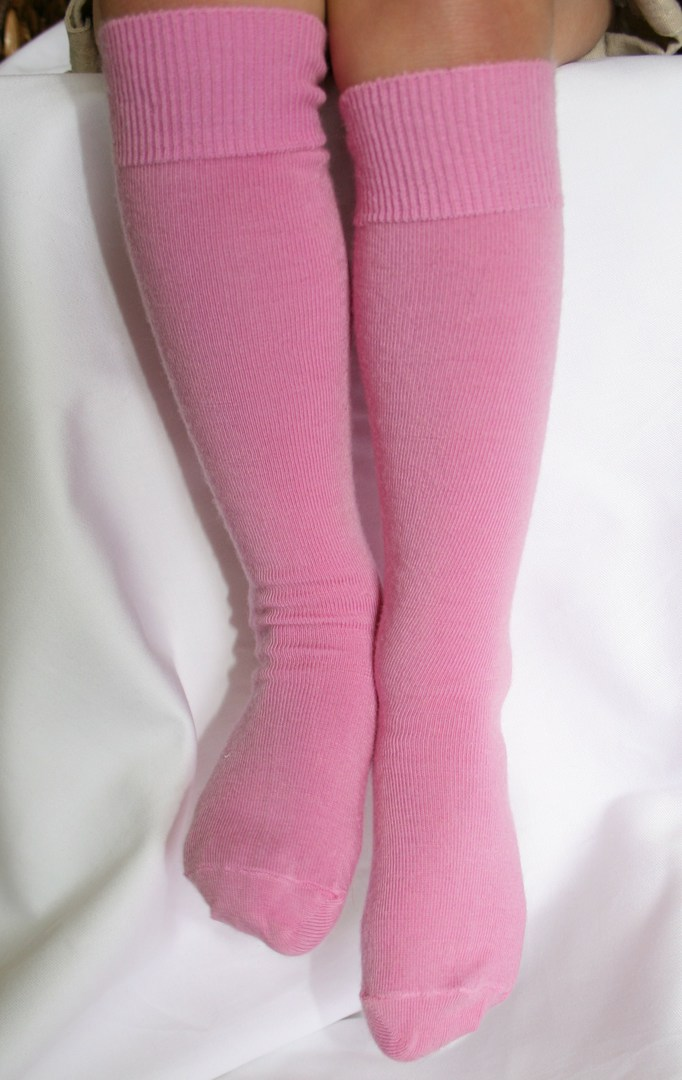 Long Merino Wool Socks - child image 2
