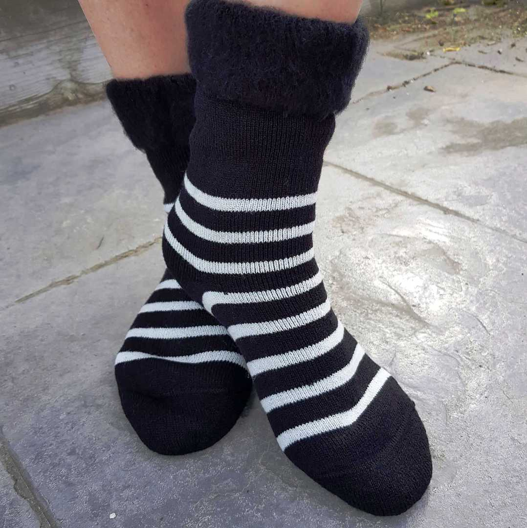 Slipper Sock or Bed Sock - one size fits all. image 0