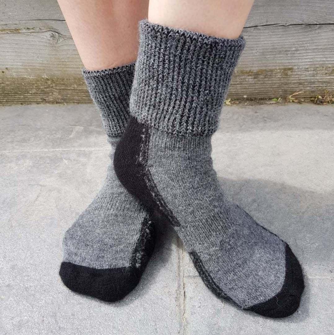 Alpaca Merino Possum Blend Comfort Socks - Unisex image 1