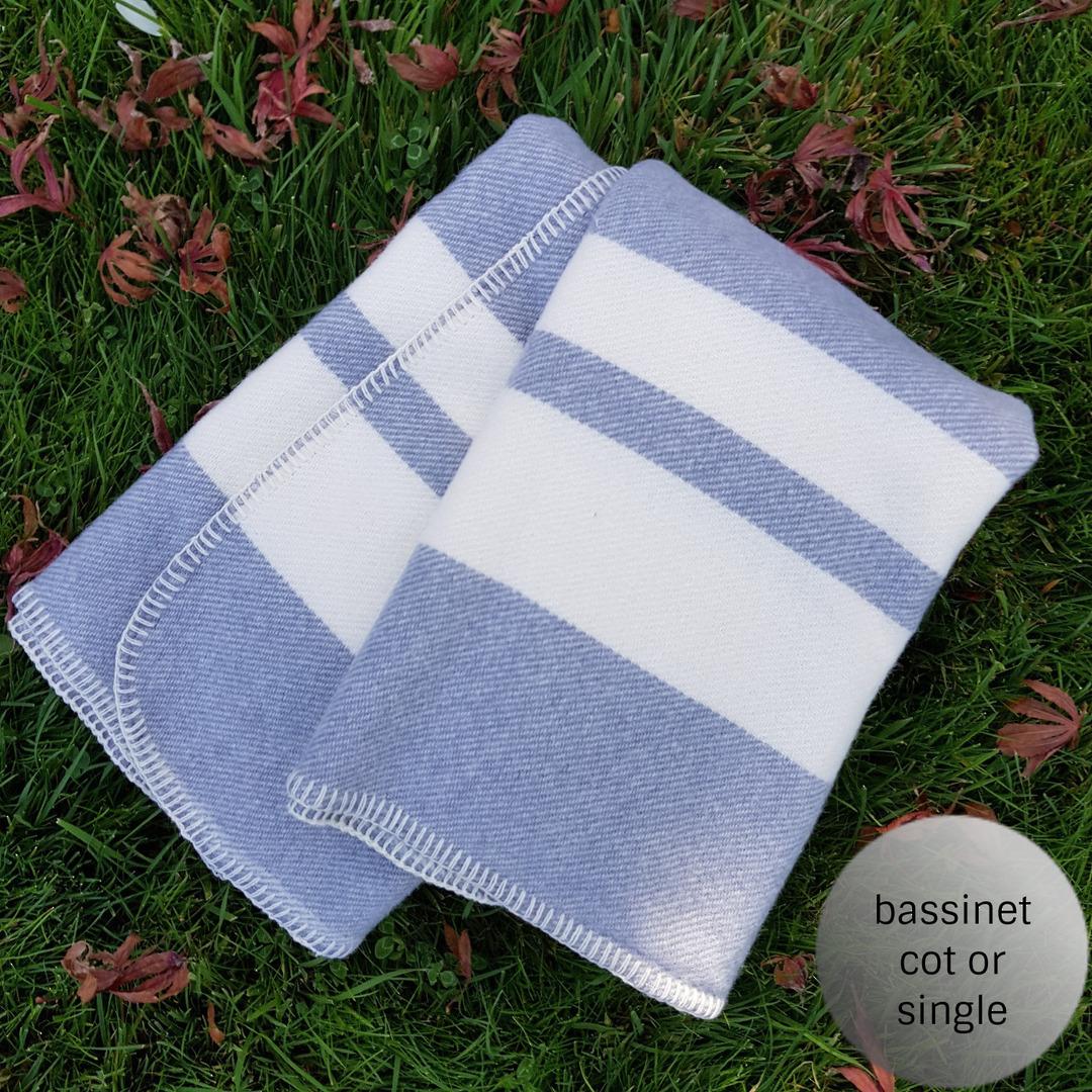 Wool Blanket Traditional Stripe image 0