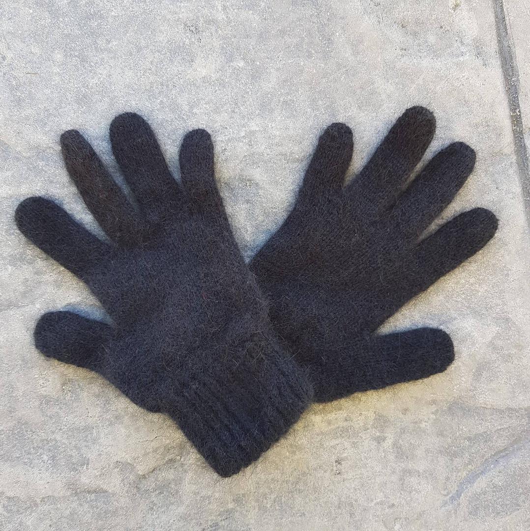 Children's Possum Merino Silk Gloves image 2