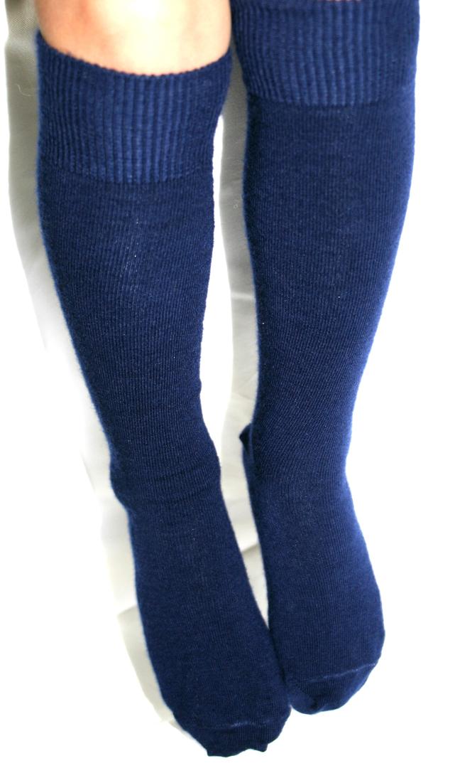 Long Merino Wool Socks - child image 1
