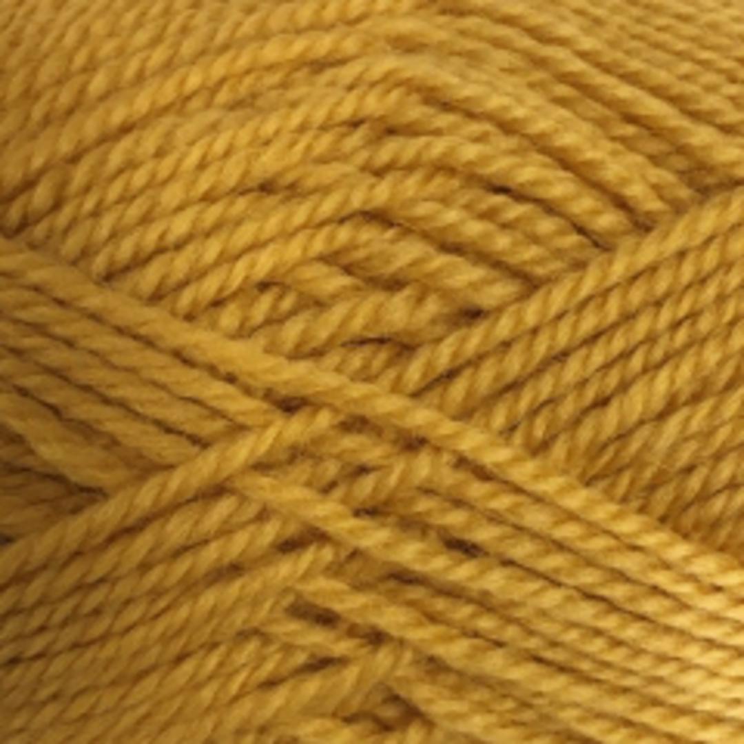 Red Hut: Pure 100% New Zealand Wool 8 Ply Yarn - Mustard image 0