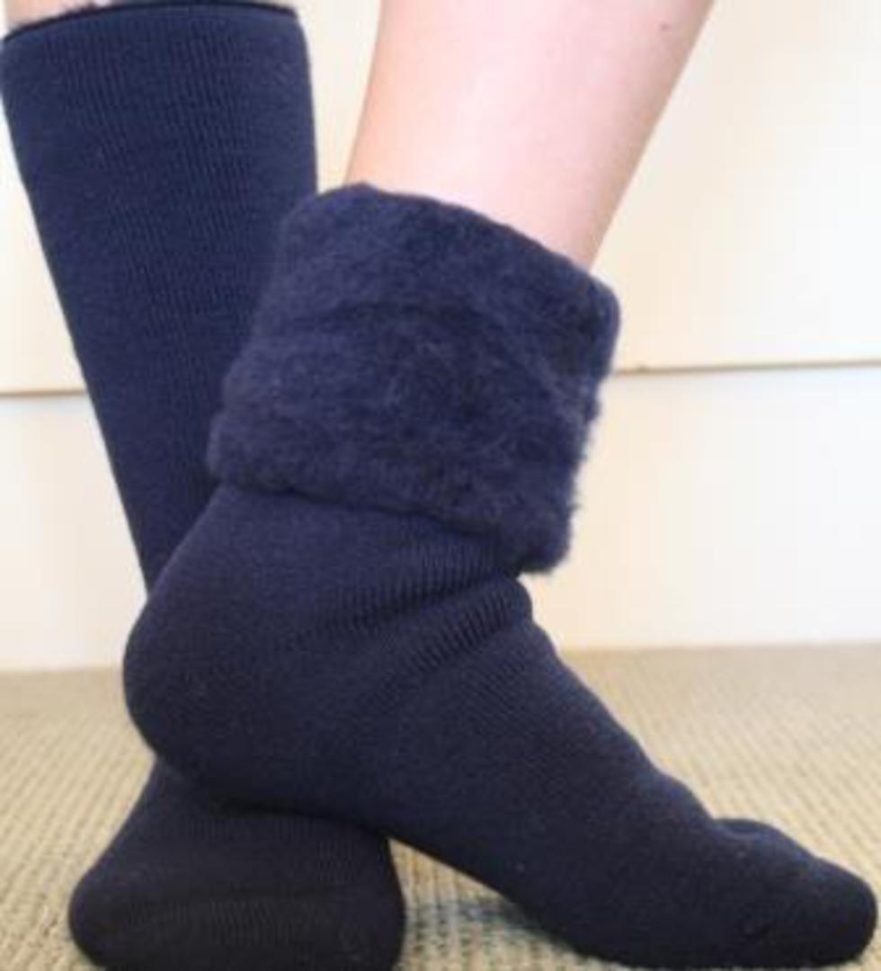 Slipper Sock or Bed Sock - one size fits all. image 3