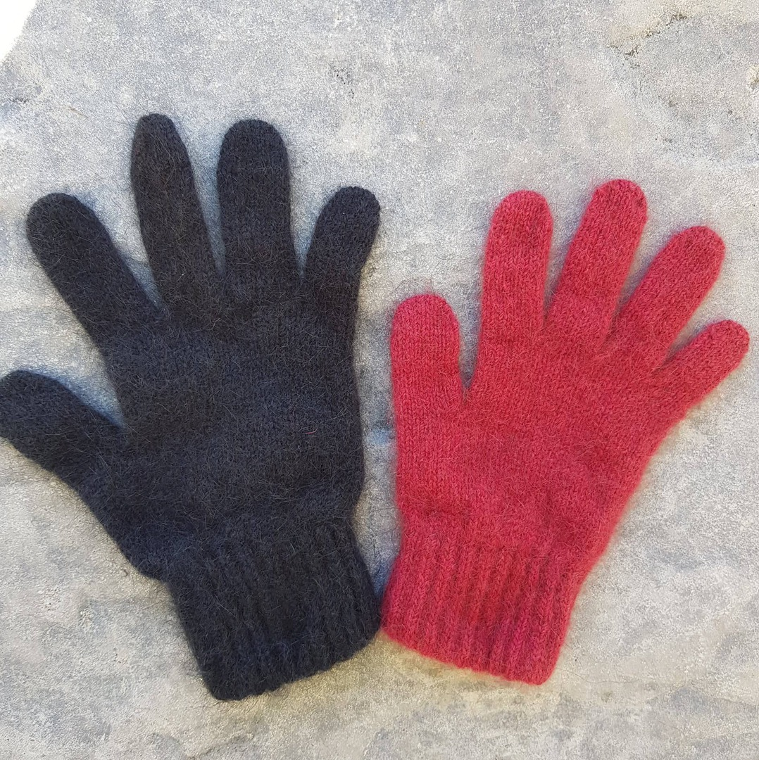 Children's Possum Merino Silk Gloves image 0
