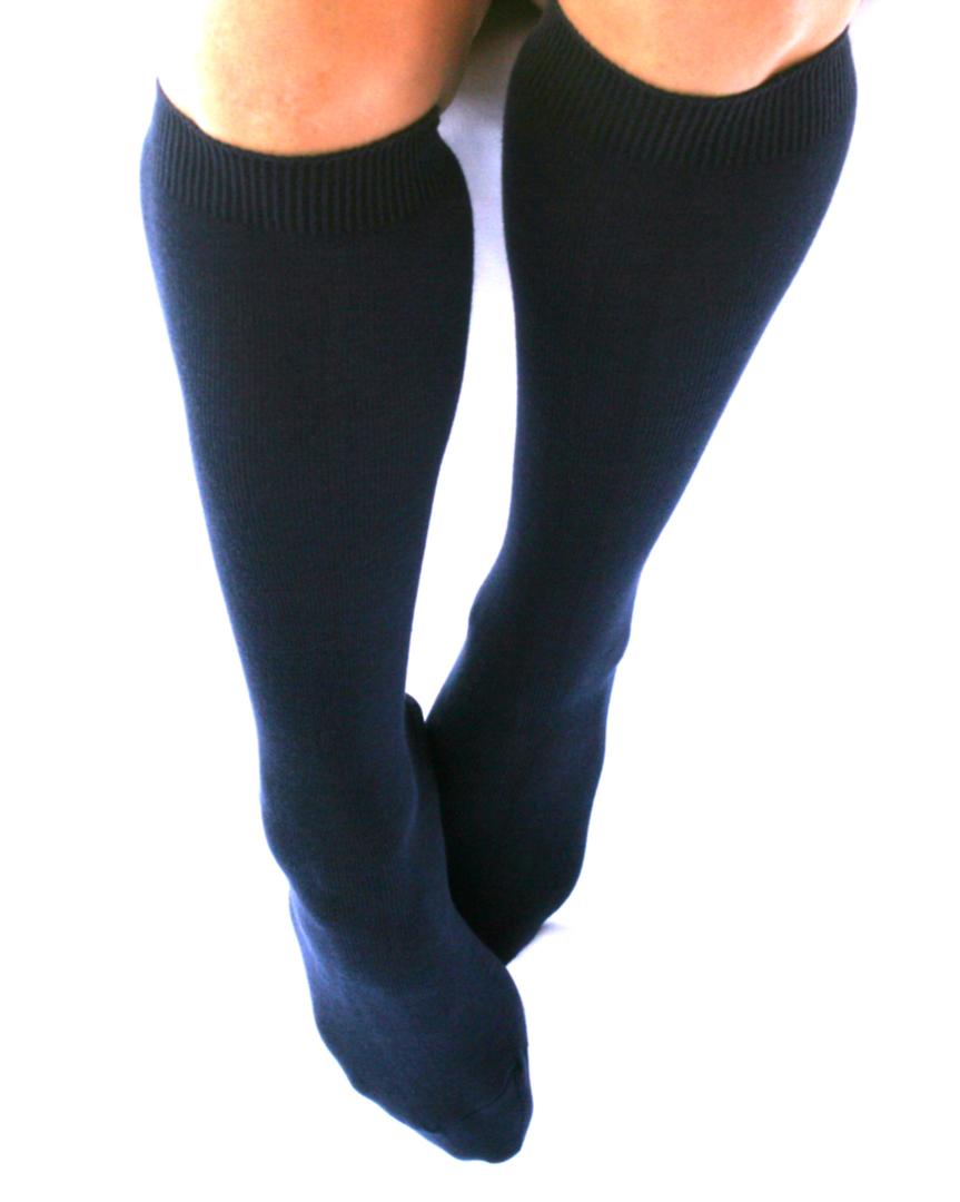 Knee High Cotton Socks image 1