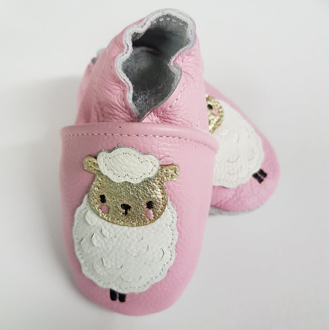 Sheep Leather Baby Shoes image 1