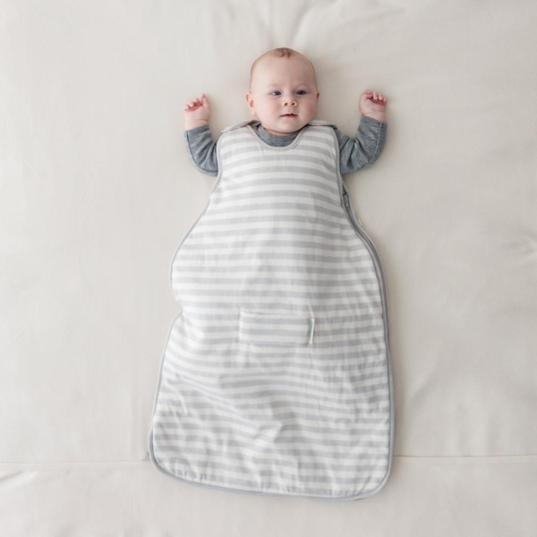 Mini 3-Seasons Side Zip Sleeping Bag (0 - 9 months) - Pebble image 0