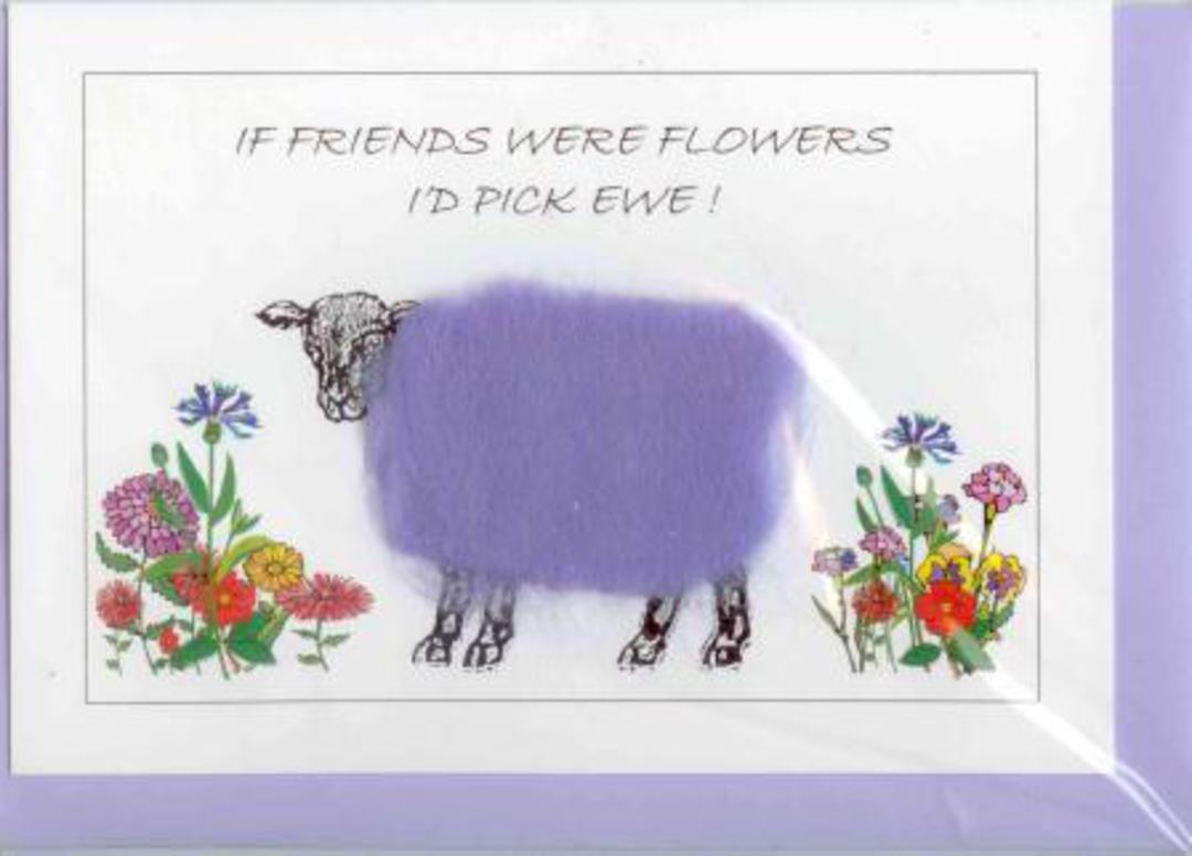 If Friends Were Flowers I'd Pick Ewe Gift Card image 0