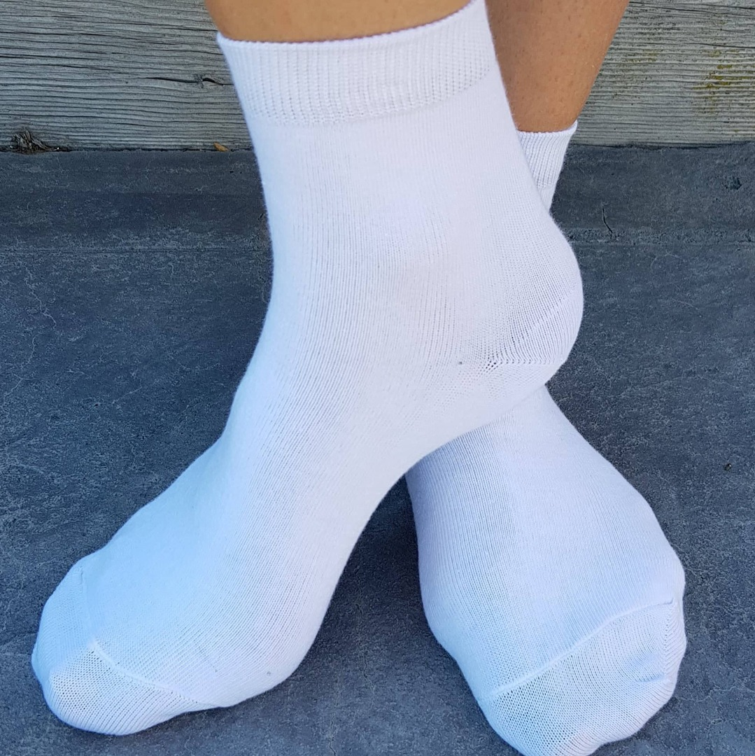 Crop Socks For School - cotton. pack of 3 image 0