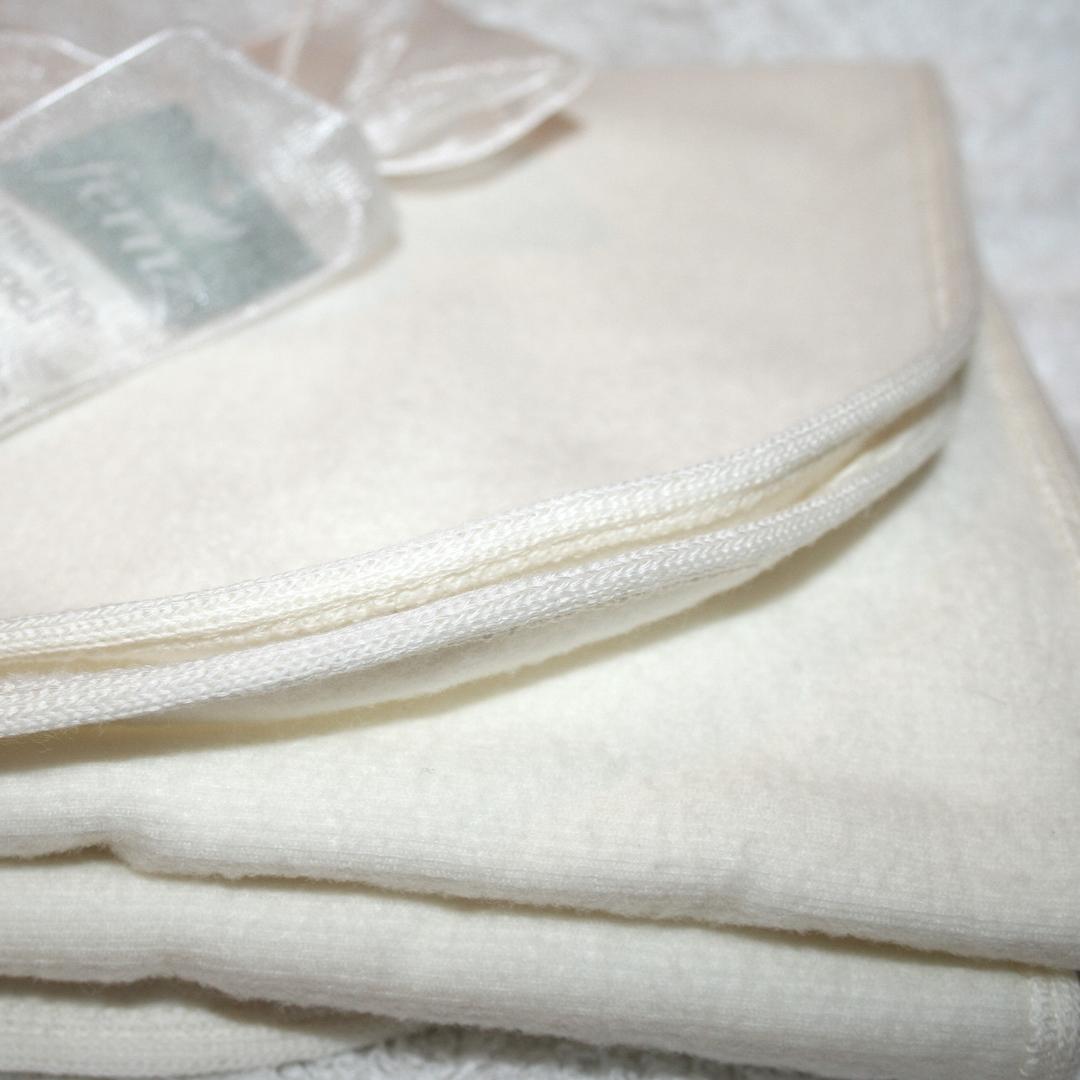 Merino Wrap Baby Blanket image 0
