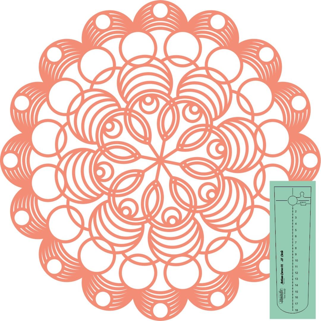 Westalee Artisan Curves- Circles#5 image 0