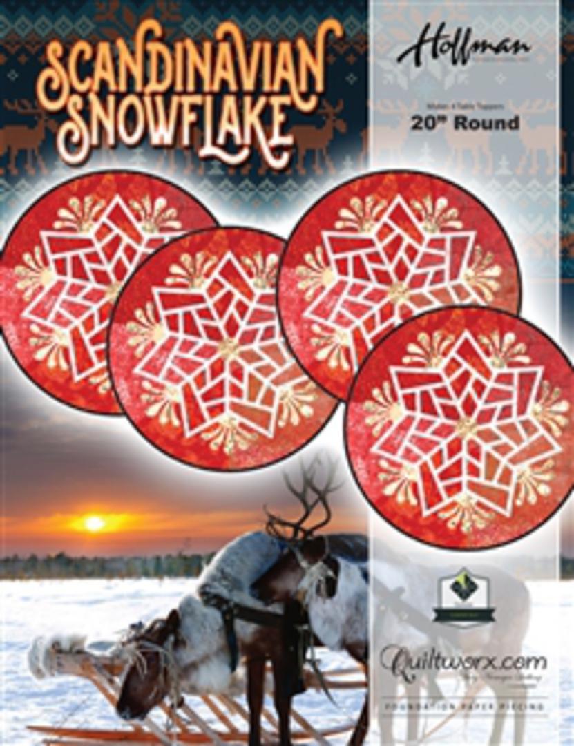 Quiltworx Scandinavian Snowflakes image 0