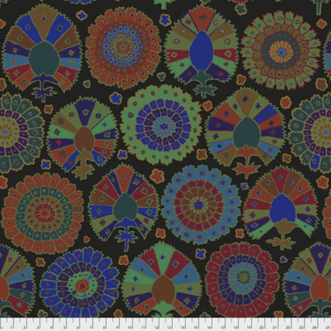 Fabric-Kaffe Turkish Delight Black image 0