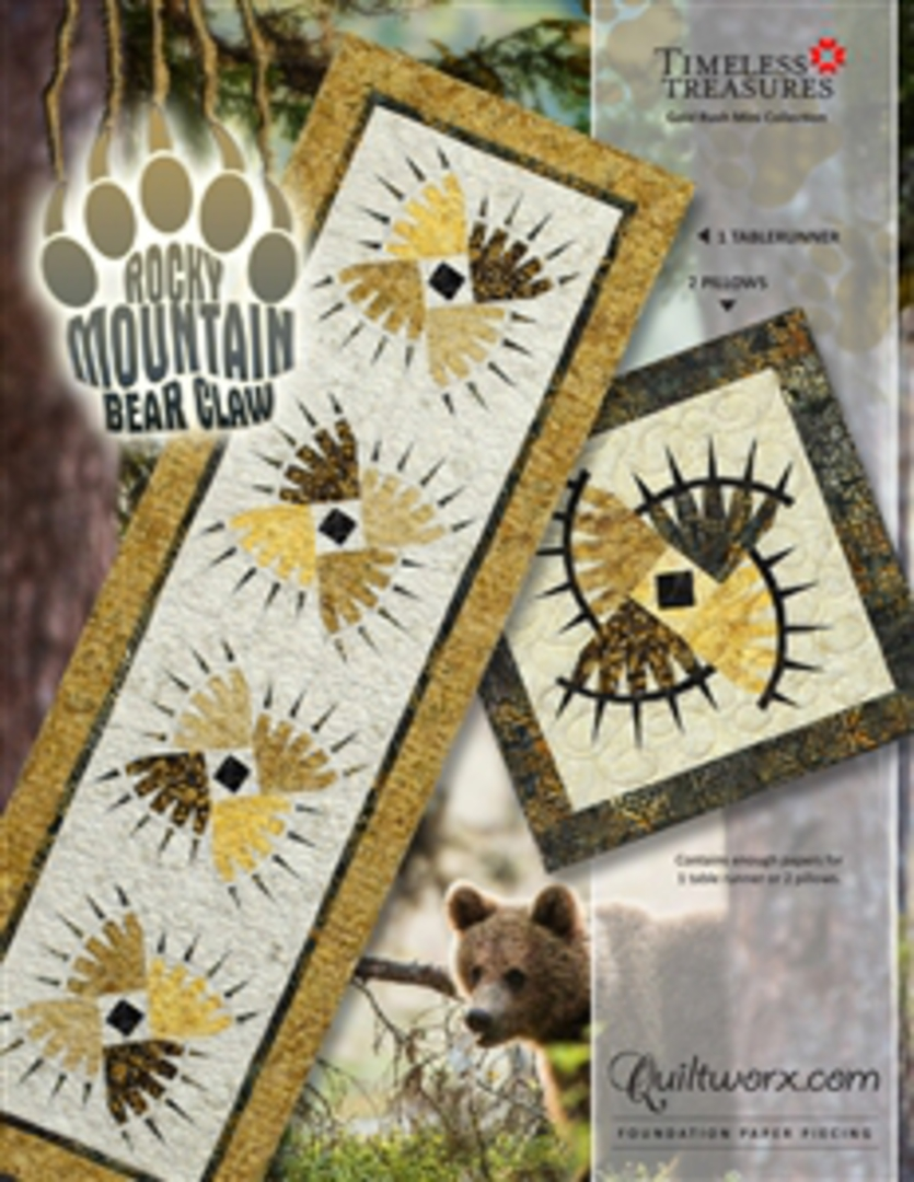 Quiltworx Rocky Mountain Bear Claw image 0