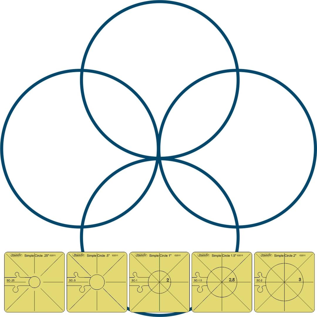Westalee simple Circles Set 1 image 0
